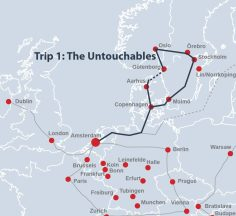 Route 'The Untouchables'