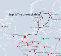 Route 'The Untouchables'