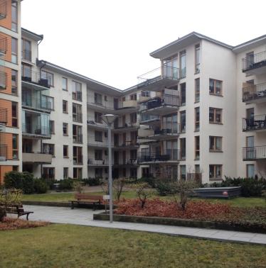 Typical Swedisch housing in Linköping