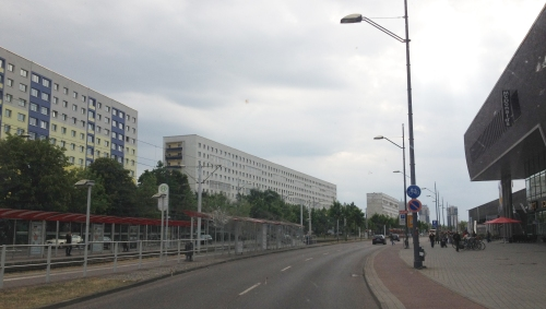 Halle Neustadt mainstreet