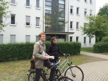 ANA meets Pieter van der Kooij in Freiburg