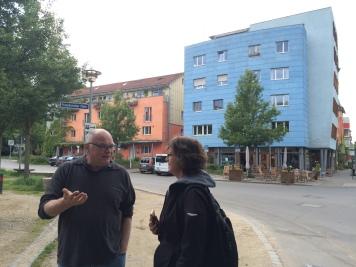 ANA meets Gert Kuhn in Tubingen