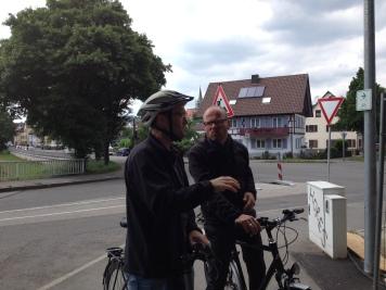 ANA meets Martin Rasch in Tubingen