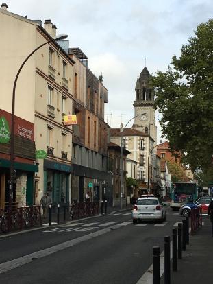 Place de la republique Montreuil