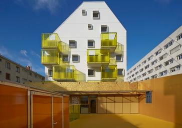Paris 20°, Agence Bernard Buhler Architectes, Paris, 2017 © Buhler Architectes [ Image from: http://www.bernard-buhler.com/ ]