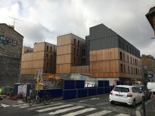 Le Bourg, Archi5, Montreuil 2017 © ANA architecten