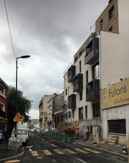 Gevarieerd straatbeeld Montrieul