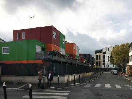 Containerwoningen voor Roma, Montreuil
